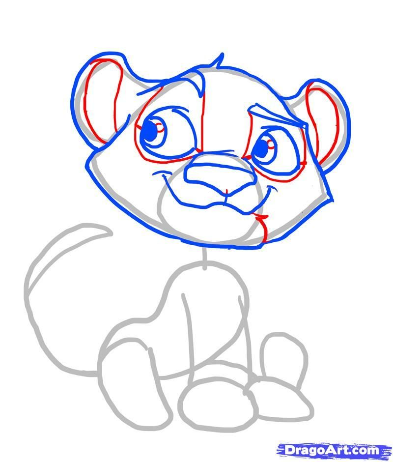 How to draw minion chib with a pencil step by step 7