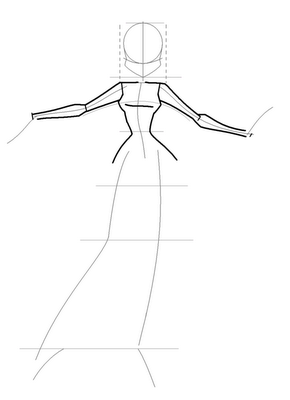 How to draw the fairy Blum with a pencil step by step 8