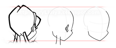 How to draw Blum (Bloom) from the animated film of Vinks (Winx) step by step 3