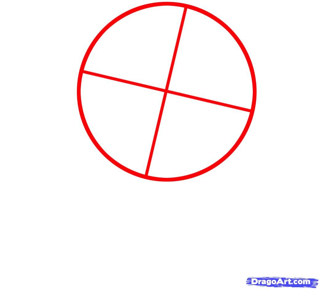 How to draw a pig to the child with a pencil step by step 2