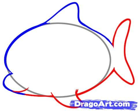 we draw a dragon for children step by step 4