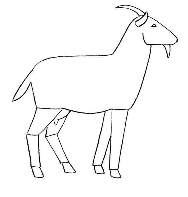 How to draw a pony step by step 2