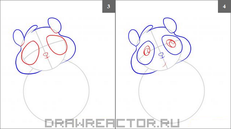 How to draw an olenenka step by step 2