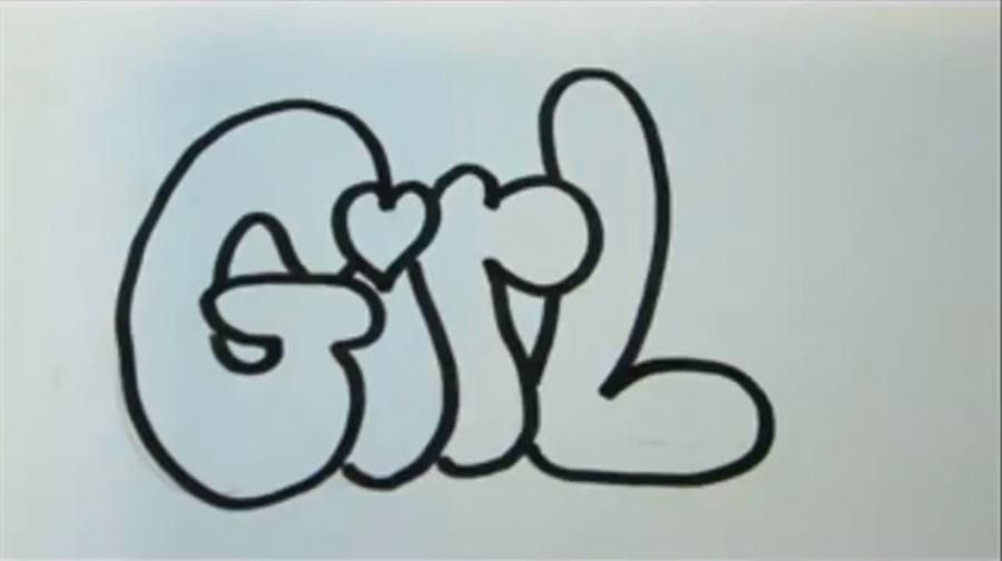 How to draw the word Mario in style of graffiti with a pencil step by step 5
