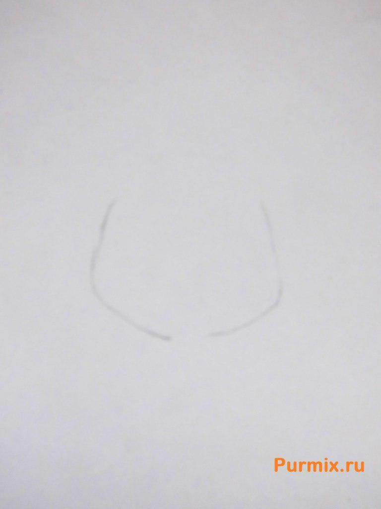 How to draw Astrid from How to tame a dragon the 2nd pencil step by step 2