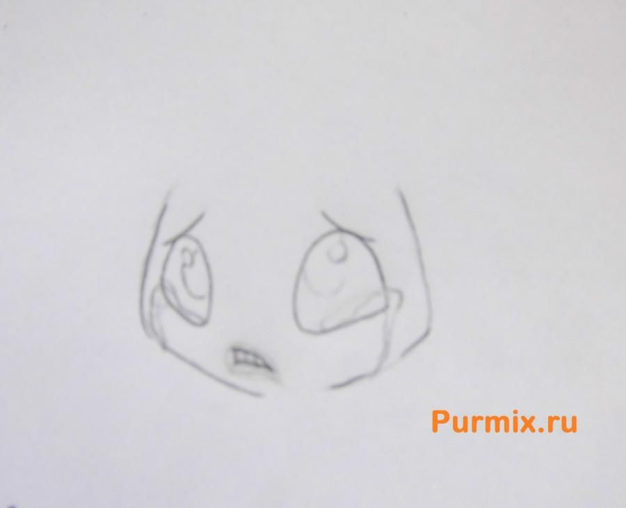 How to draw Astrid from How to tame a dragon the 2nd pencil step by step 3