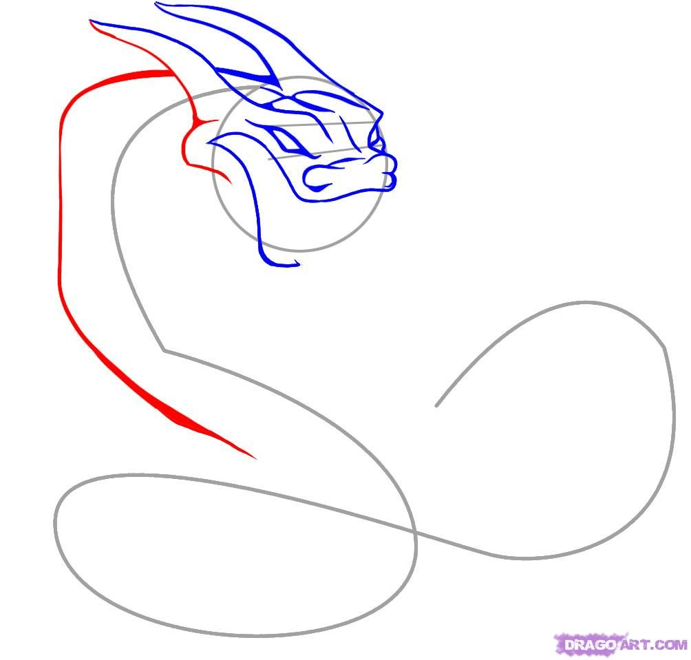 How to draw a tattoo of a scorpion with a pencil on paper step by step 5