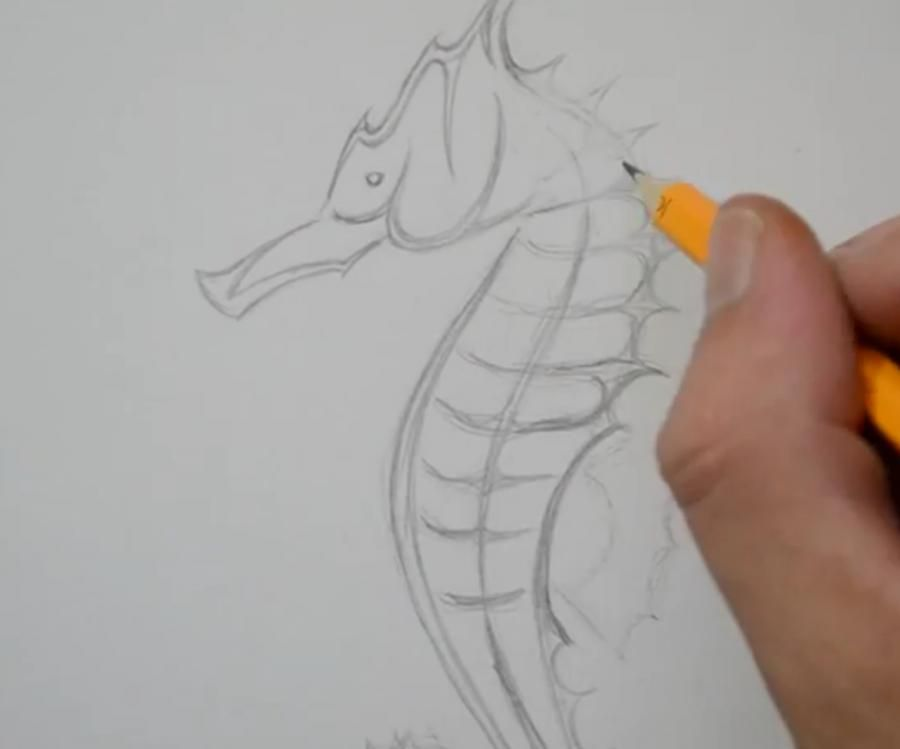 How to draw a panther tattoo on paper with a pencil 3
