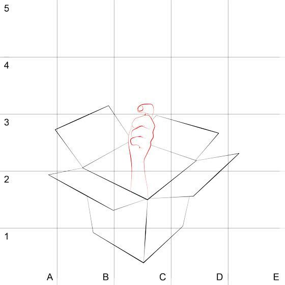 How to draw the 3D Spiderman on paper step by step 2