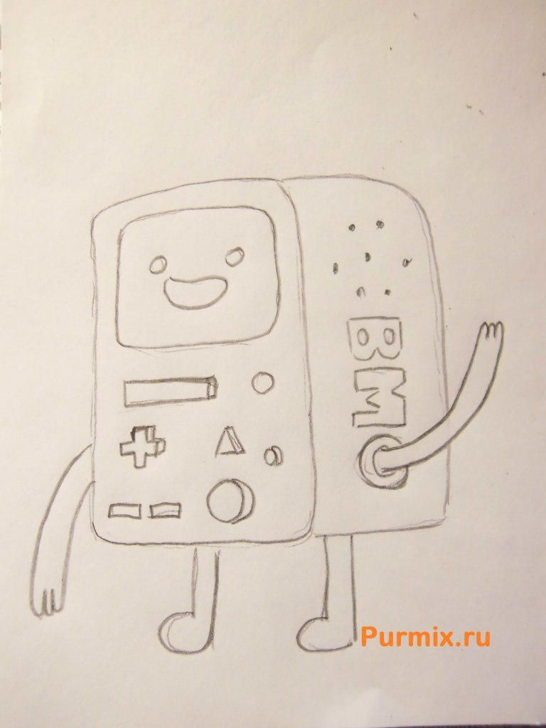 How to draw Doctor Norin from Life and adventures of the robot of the teenager 5