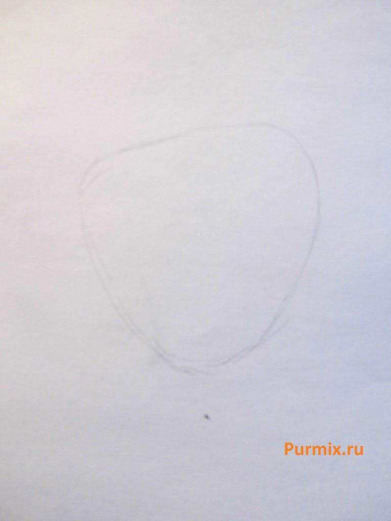 How to draw Harold Berman from Hey, Arnold with a pencil 2