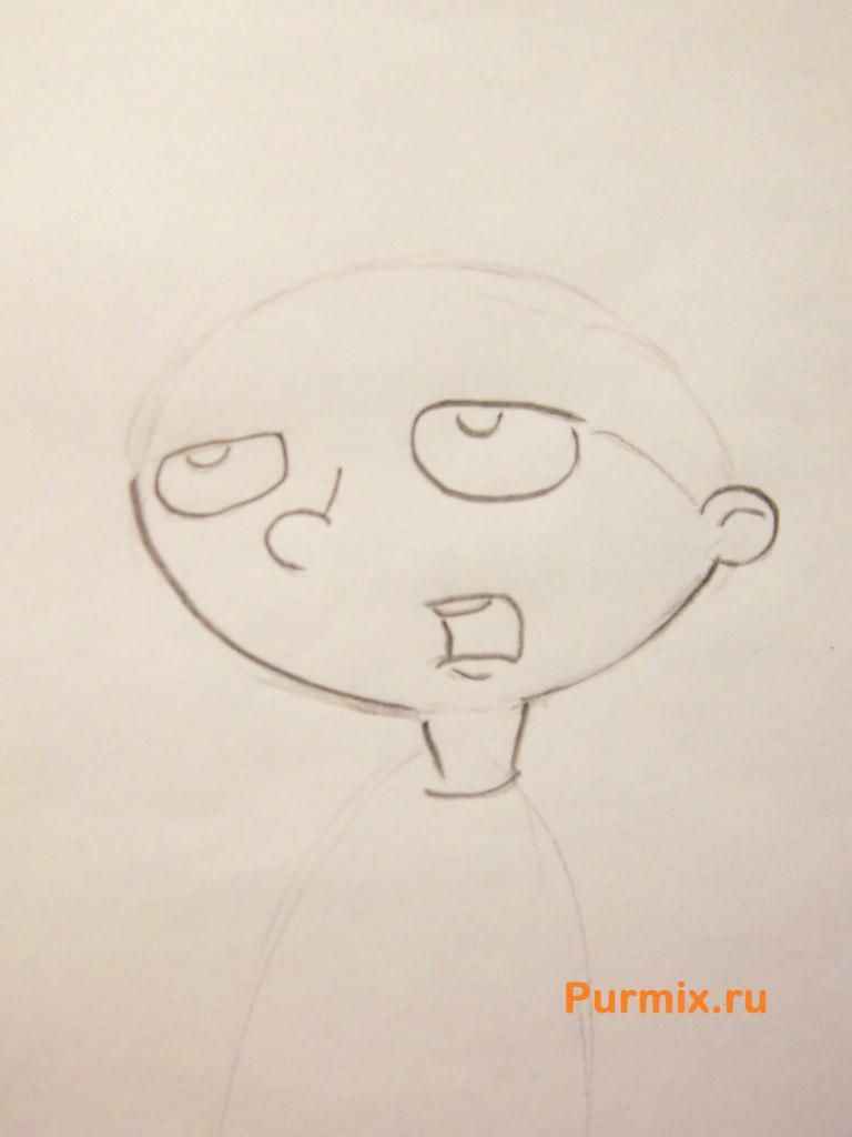 How to draw Phebe Heyerdal from Hey, Arnold with a pencil step by step 3