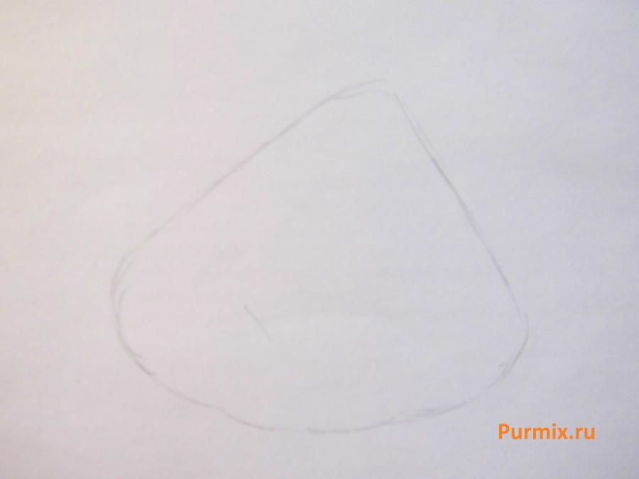 How to draw Jessica Lovejoy from Simpsonov with a pencil step by step 2