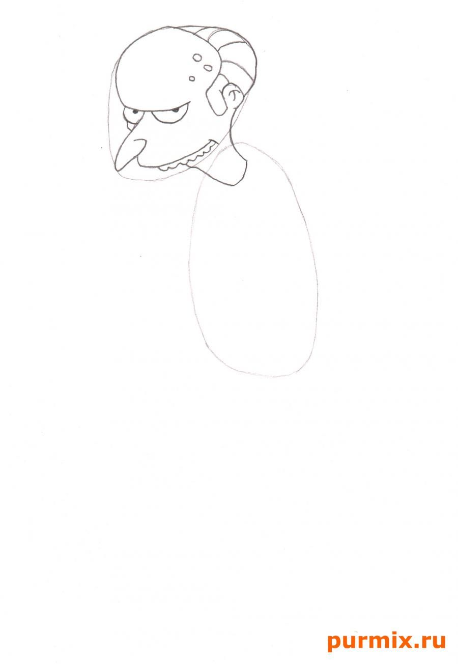 As it is simple to draw Bart Simpson with a pencil step by step 3