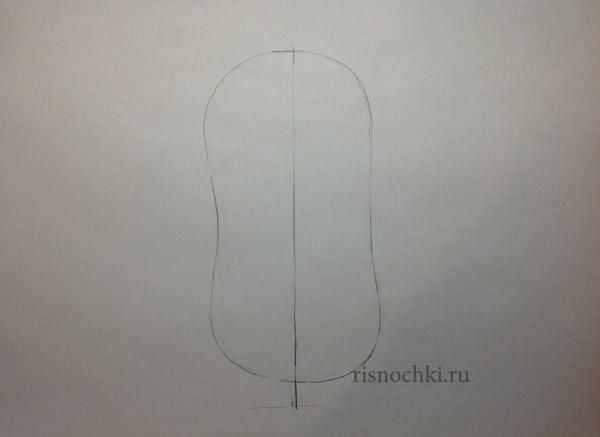 How to draw the Sim card from Fiksikov with a pencil step by step 2