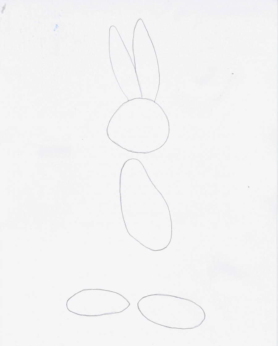 How to draw Spidi's mouse Gonzales from Cheerful melodies with a pencil 2