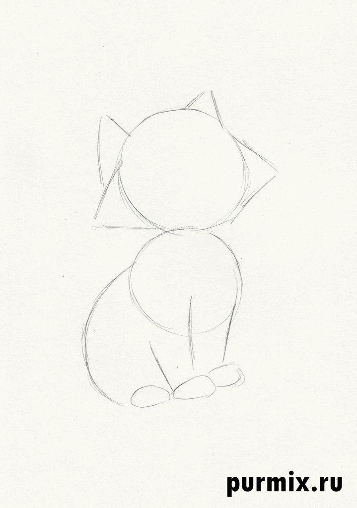 How to draw Thomas O'Melli from Cats of Aristocrats step by step 2