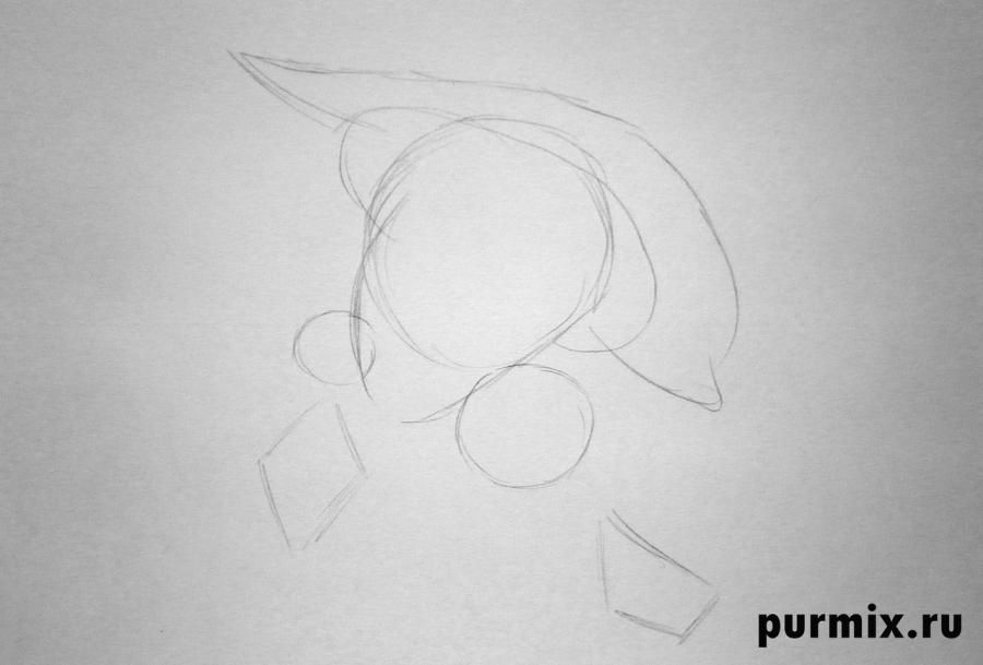 How to draw Nita from the Brother a bear cub with the 2nd simple pencil 2