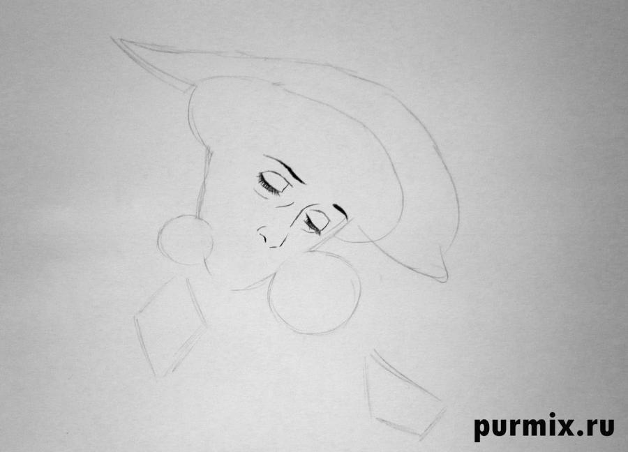 How to draw Nita from the Brother a bear cub with the 2nd simple pencil 3