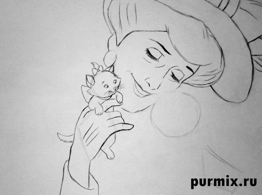 How to draw Nita from the Brother a bear cub with the 2nd simple pencil 7