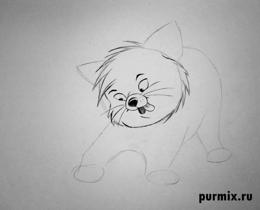 How to draw Sitka from the Brother a bear cub step by step 4
