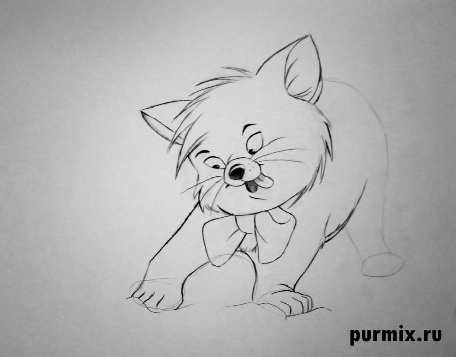 How to draw Sitka from the Brother a bear cub step by step 5