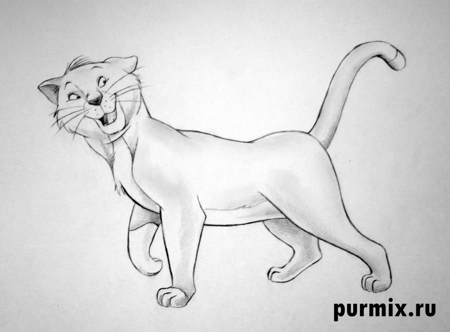 How to draw Thomas O'Melli from Cats of Aristocrats step by step