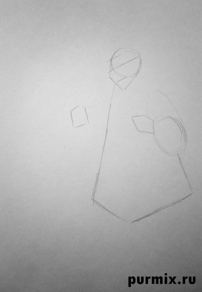 How to draw Kenaya from the animated film the Brother a bear cub 2