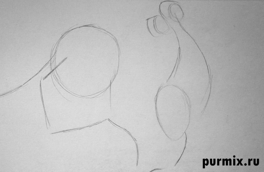 How to draw Phil from Hercules with a simple pencil 2