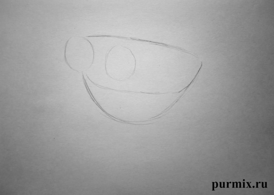 How to draw Morfa and Jima from the Planet of treasures with a simple pencil 2