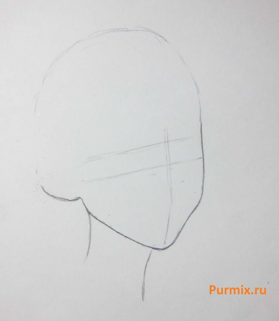 How to draw Nahla and Simbu from The Lion King with a simple pencil step by step 2