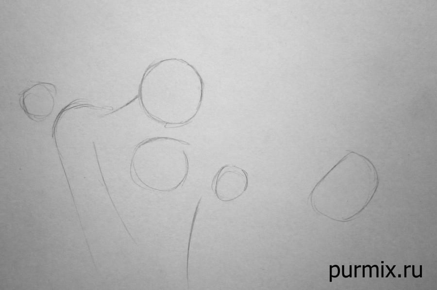 How to learn to draw Mullan on a horse a simple pencil step by step 2