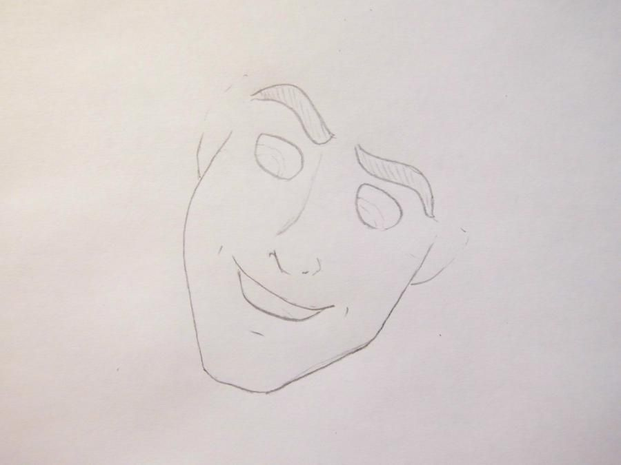 How to draw the prince Hans from Cold heart with a pencil 3