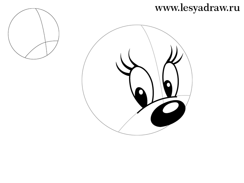 How to draw Fynn from the animated film of the Wheelbarrow with the 2nd pencil step by step 2