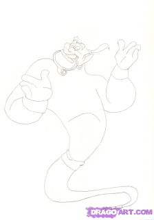 How to draw B?ll from the animated film the Beauty and the Monster with a pencil step by step 4