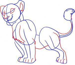 How to draw Gufi step by step 4