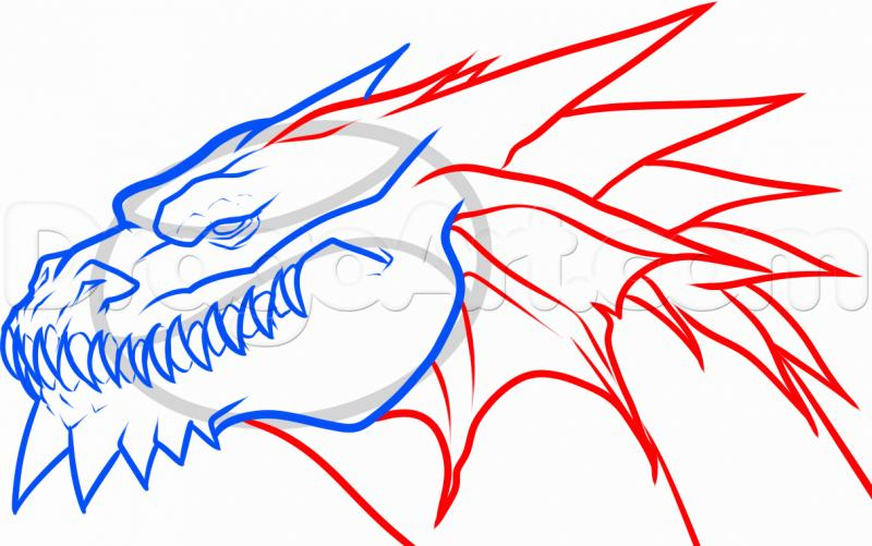 How to draw the southern sergal with a pencil step by step 6