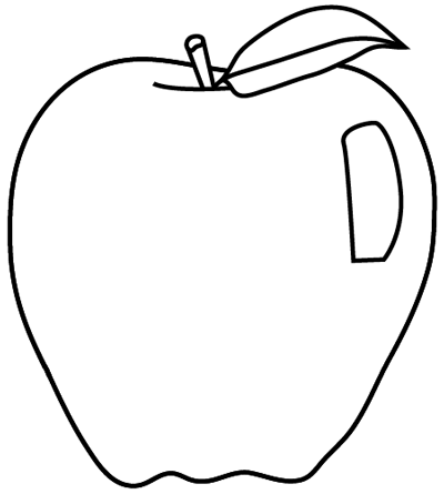 How to draw Apple with a pencil step by step