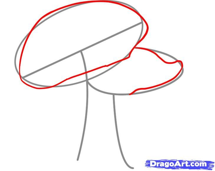 How to draw the Sandwich with a pencil step by step 3