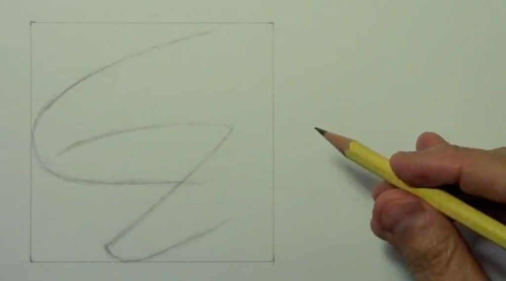 How to draw bansh (Banshee) with a pencil step by step 2