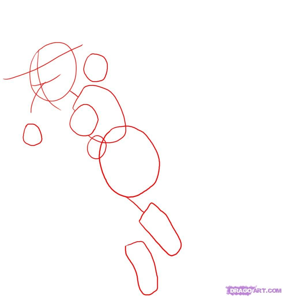 How to draw the centaur girl step by step 2