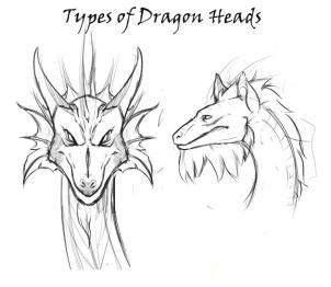 How to draw the head of a dragon step by step 2