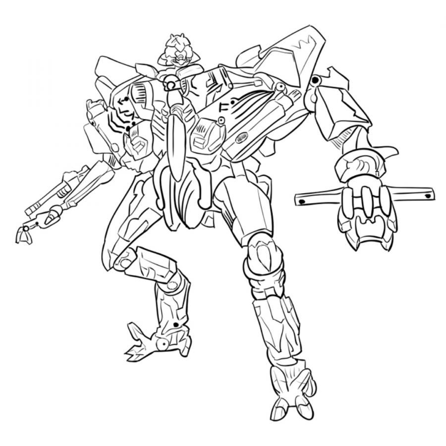 How to draw Starskrim's transformer with a pencil step by step