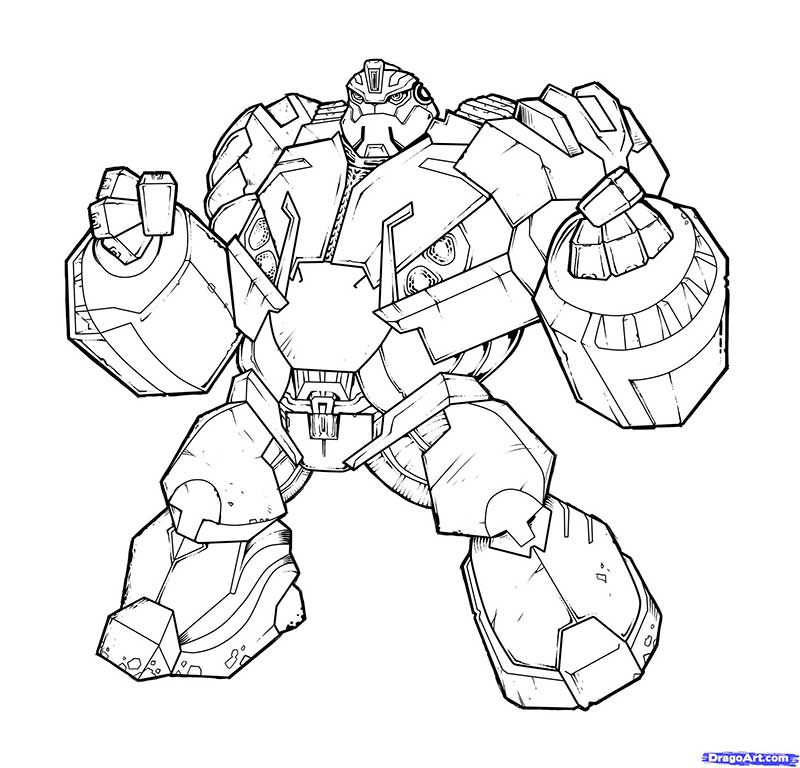 How to draw Bulkhead with a pencil step by step