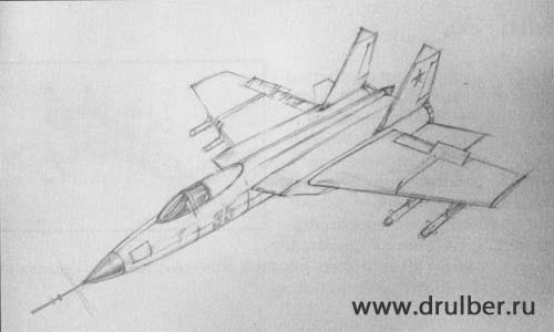 How to draw BRDM-2 with a pencil step by step 3