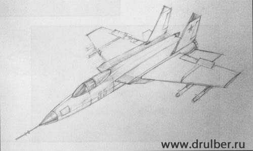 How to draw BRDM-2 with a pencil step by step 4