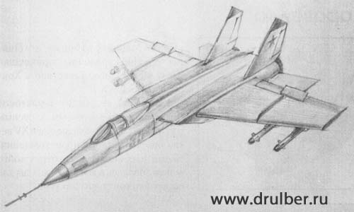 How to draw BRDM-2 with a pencil step by step 5