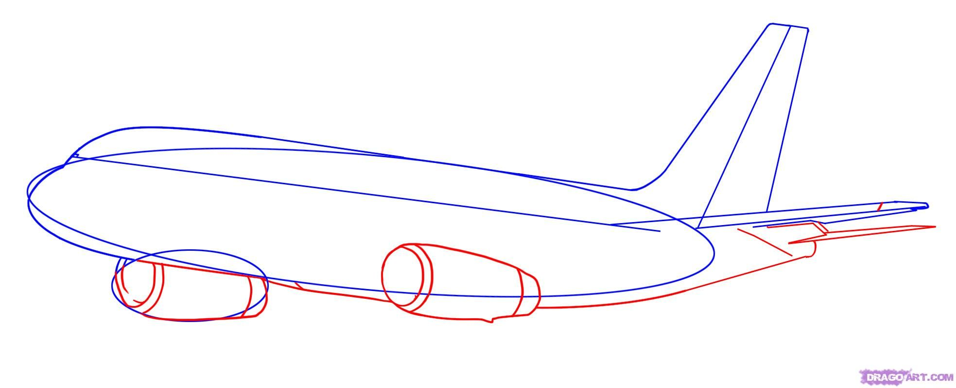 How to draw the Submarine with a pencil poetapn 4