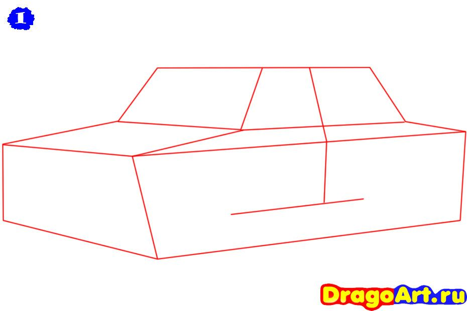 How to draw the car, the Ferrari 599 GTO car step by step 2
