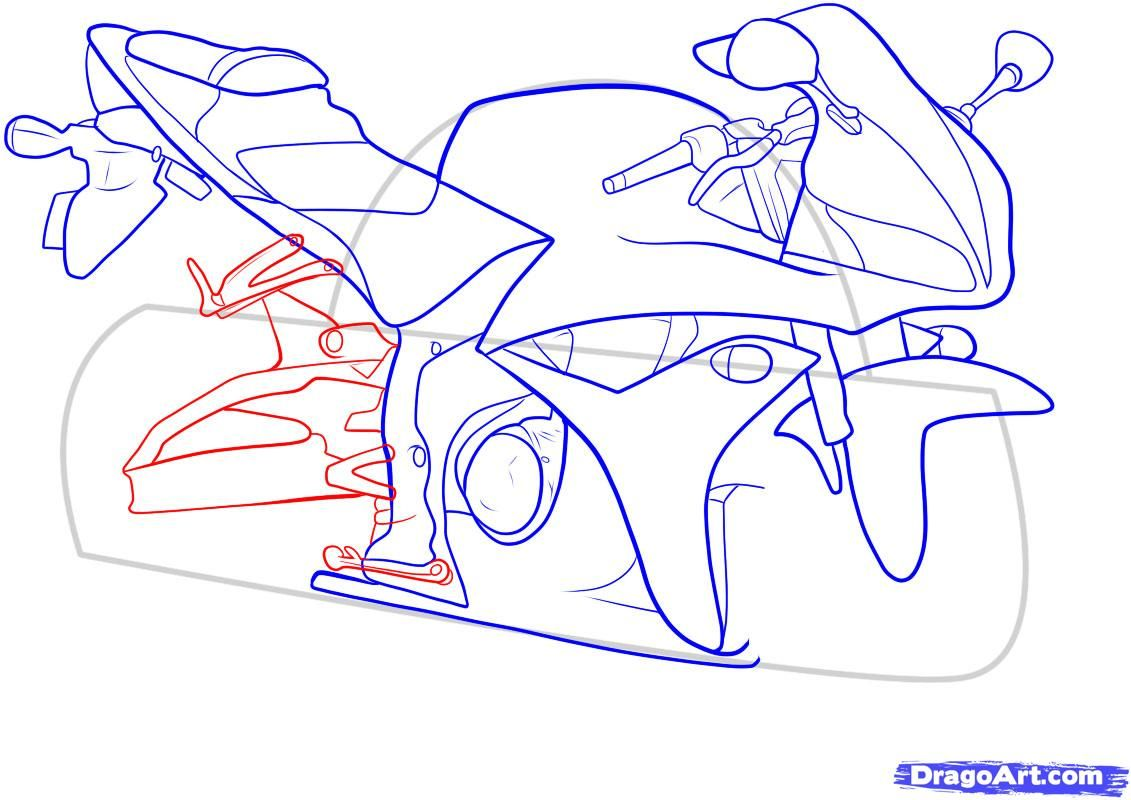 How to draw the car Cadillac (Cadillac ELR 2013) step by step 11